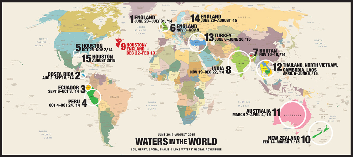 WorldWideWatersItineraryMap